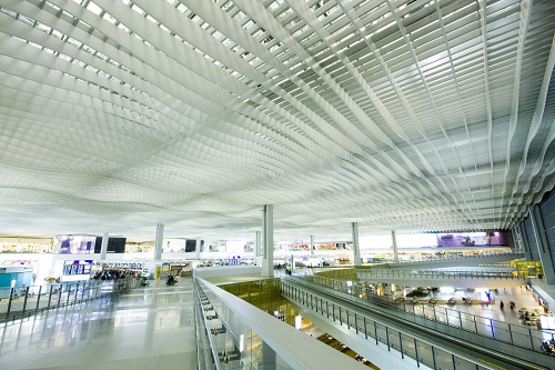 Hong Kong international airport main hall