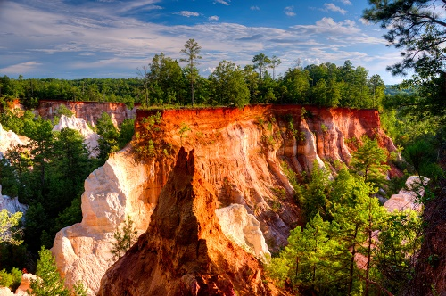 Providence Canyon at Providence Canyon State Park, GA.
