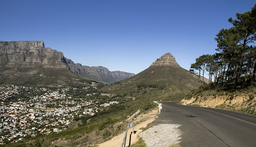 Road to Lion's Head